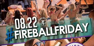Sapphire Pool & Day Club to Host #FireballFriday with Music by HardNox Aug. 22