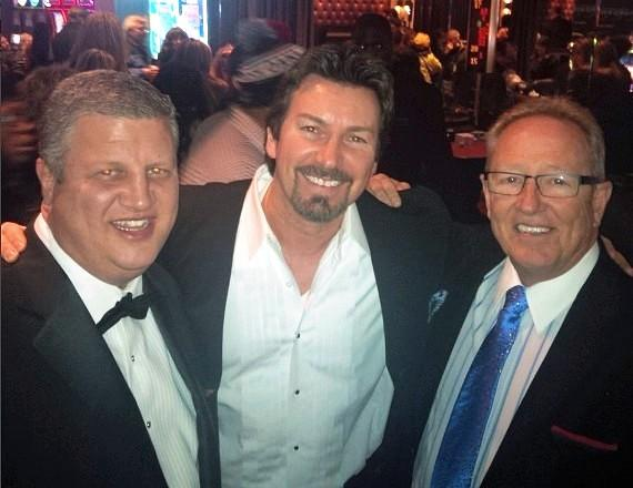 Casino Owner Derek Stevens, COO David Tuttle and Richard Wilk