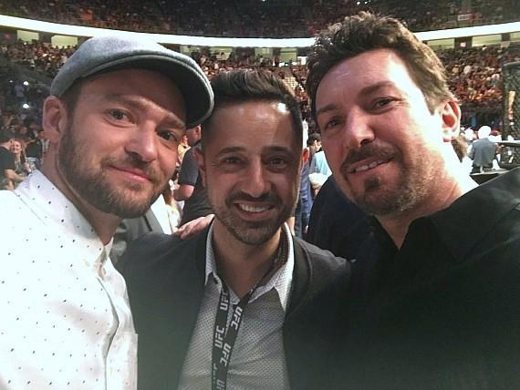 Justin Timberlake with Leor Yerushalmi and Richard Wilk