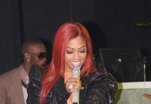 Trina Performs at Crown Nightclub in The Rio