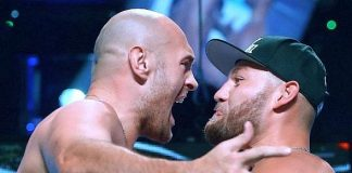 Weigh-In Results: Fury vs. Schwarz MGM Grand Garden Arena in Las Vegas