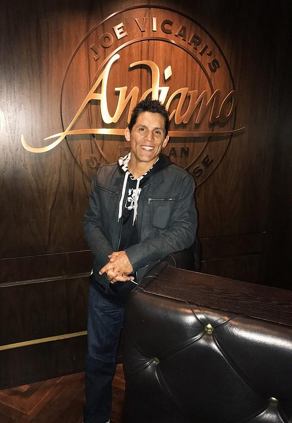UFC Fighter Frank Shamrock at Andiamo Italian Steakhouse Las Vegas