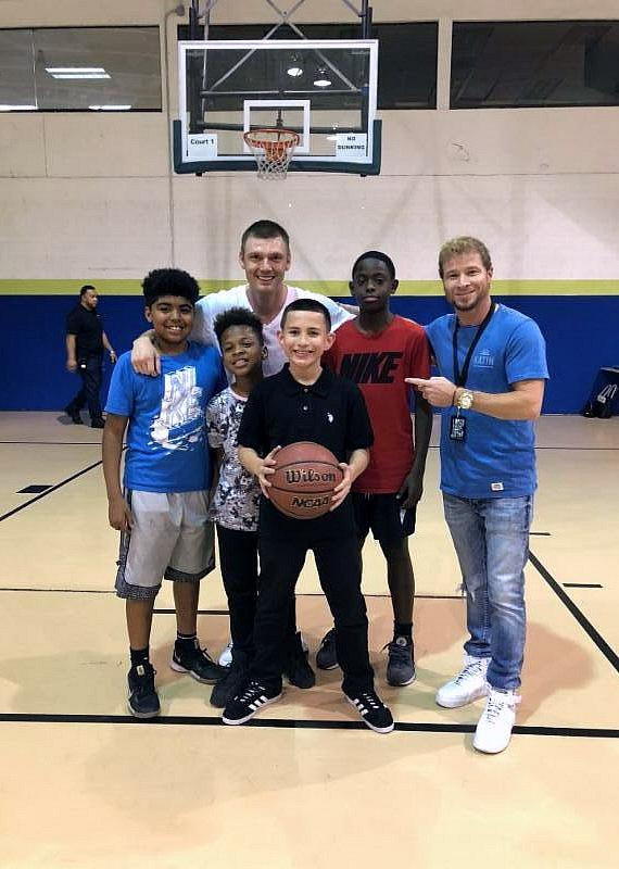 Backstreet Boys Surprise Boys & Girls Clubs of Southern Nevada with Special Visit