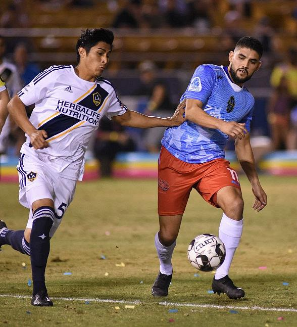 Lights FC Battle to Exciting Draw with L.A. Galaxy II on Independence Day