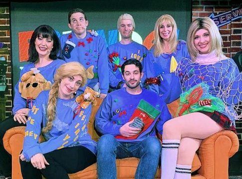 """The One with the Ugly Christmas Sweaters - A Karaoke Night Out and Festive Holiday Promotion with the cast of """"FRIENDS! The Musical Parody"""""""
