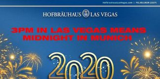 Hofbräuhaus Las Vegas to Celebrate Midnight in Munich With 3 P.M. Balloon Drop Dec. 31