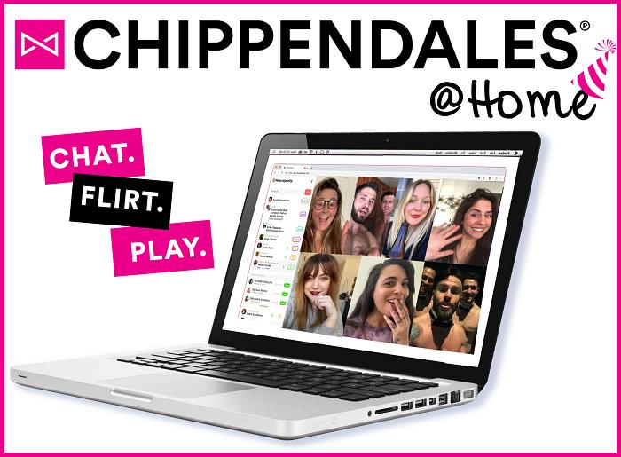 "From Sin City to Your Home, The World-Famous Chippendales to Launch ""Chippendales@Home,"" A New, Interactive Virtual Experience"