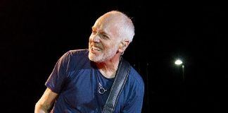 "Legendary Guitarist Peter Frampton to Bring ""Peter Frampton Finale – The Farewell Tour"" to Red Rock Resort Sept. 28, 2019"