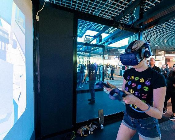Virtual Reality by Survios at The LINQ Hotel + Experience.