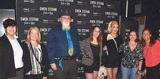 "Service Dogs in Training Attend ""Gwen Stefani – Just a Girl"" at Planet Hollywood Resort & Casino"