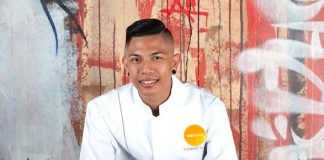Executive Sous Chef Thomas Tapat of SUSHISAMBA Las Vegas Wins the Grand Prize on the Food Network's Chopped