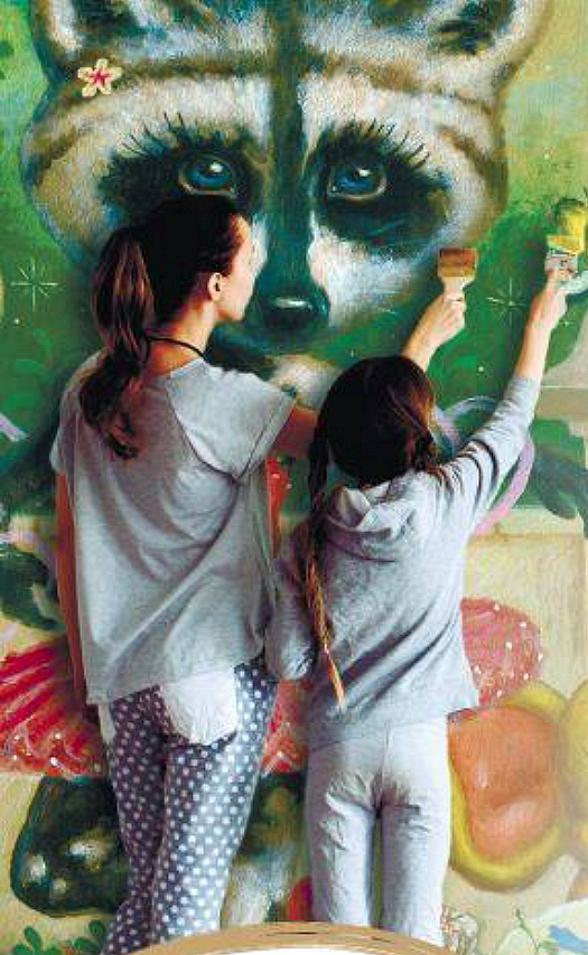 Celebrate the Arts and Community with Community Secret Garden Painting Day at Tivoli Village in Las Vegas