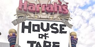 "Tape Face Swings into Harrah's Las Vegas to Break Ground on ""House of Tape"" Showroom"