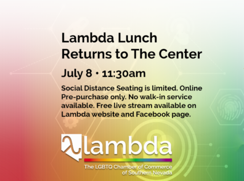 Lambda Lunch Returns July 8