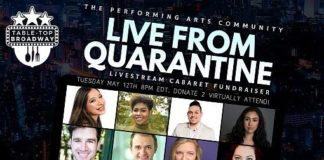 """Live from Quarantine"" Performance Features Vegas FRIENDS! The Musical Parody Cast Member"