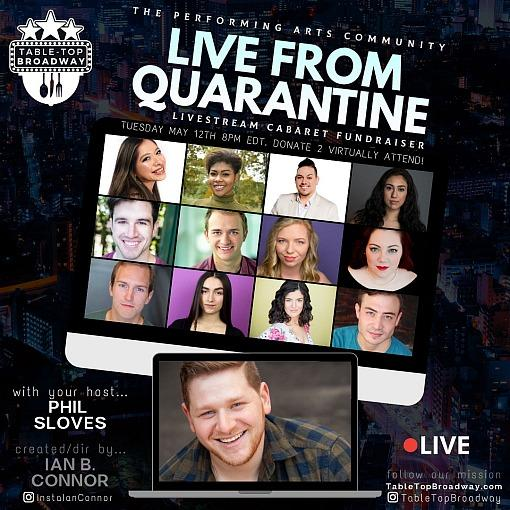 """Live from Quarantine"" Performance Features Vegas FRIENDS! The Musical Parody Cast Member Luke Striffler"