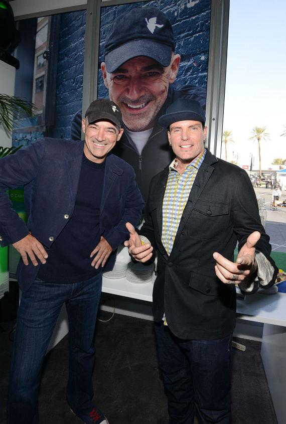Vanilla Ice with Todd Carmichael at Scripps Networks Interactive Pavilion at 2014 CES in Las Vegas