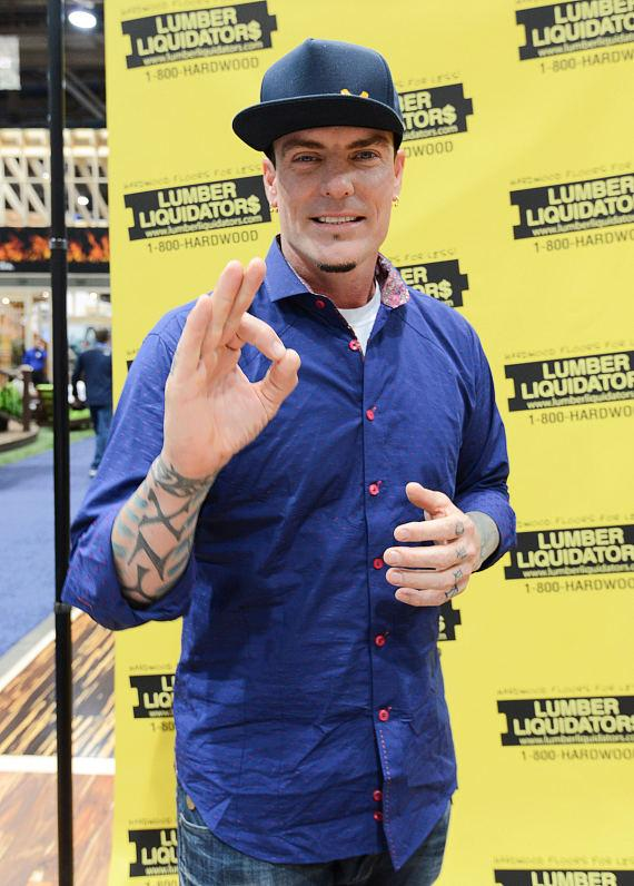 Vanilla Ice greets at NAHB International Builders Show in Las Vegas