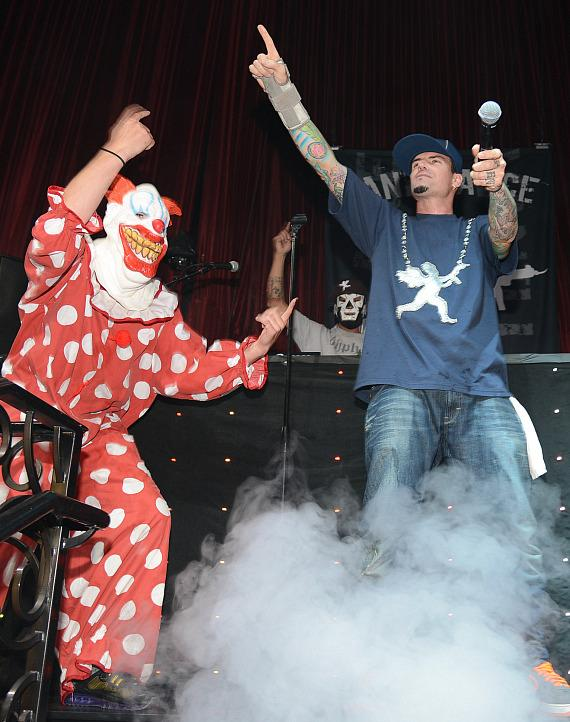 Rapper Vanilla Ice performs at LAX Nightclub