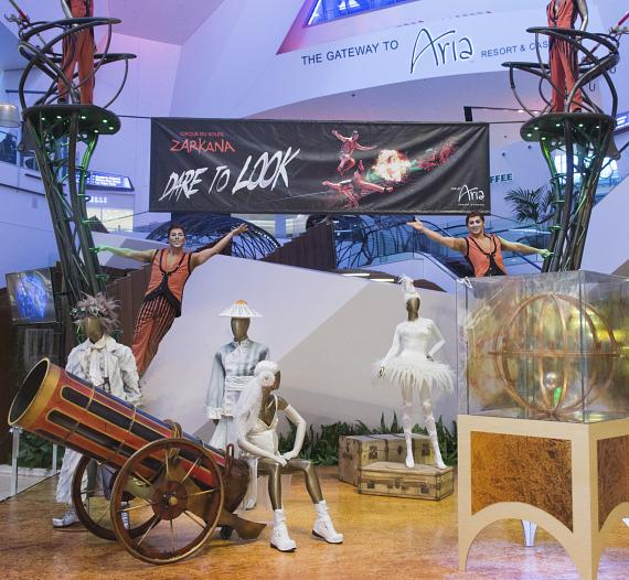 Zarkana by Cirque du Soleil Showcases Spectacular High Wire Act at The Shops at Crystals