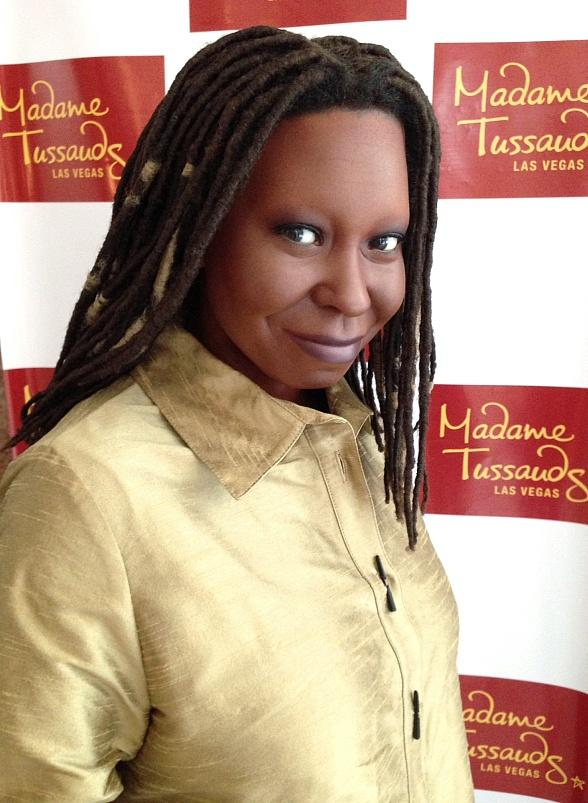 """Madame Tussauds Las Vegas Figure of Whoopi Goldberg Arrives at The Smith Center to Welcome """"Ghost The Musical"""""""