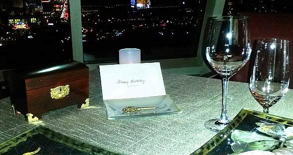 Alizé at the Top of Palms Casino Resort Gives Guests Celebration Keys to Make Every Occasion Unforgetable
