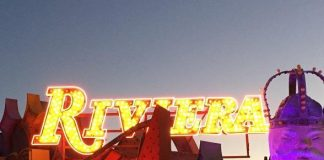 The Neon Museum Welcomes, Plugs In the Riviera Hotel & Casino Sign