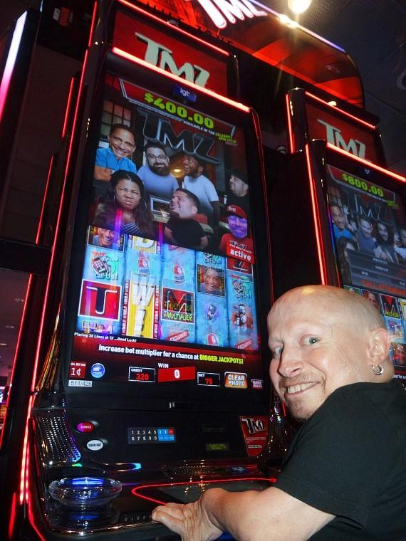 Actor Verne Troyer has a Big Weekend at the D Casino Hotel Las Vegas
