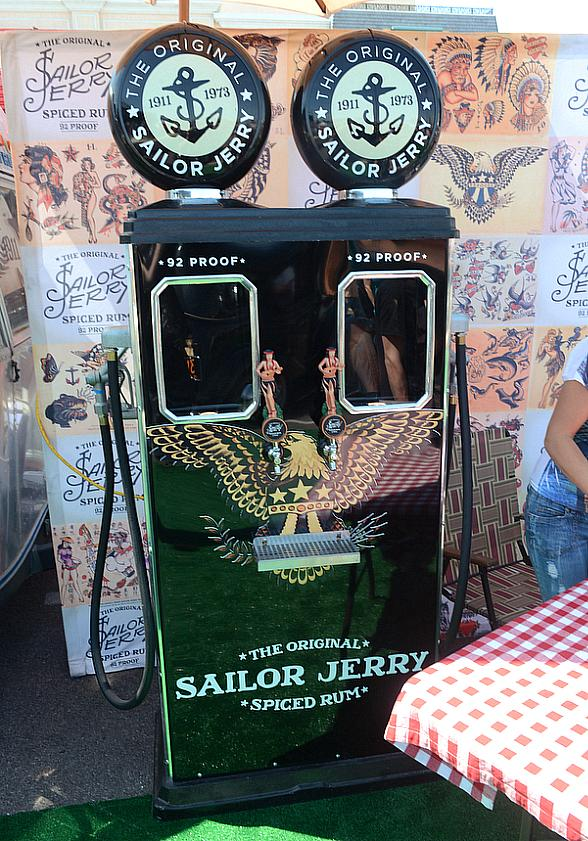 Sailor Jerry Revs Up and Rides into