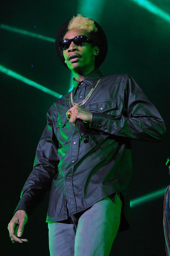 Wiz Khalifa Performs at Thomas & Mack Center at UNLV