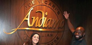 "WWE Stars ""SmackDown"" Steaks at Andiamo Las Vegas"