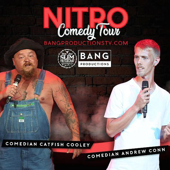 Nitro Comedy Tour Announces Two Shows at Jubilee Theater at Bally's Las Vegas for Oct. 11 & 12
