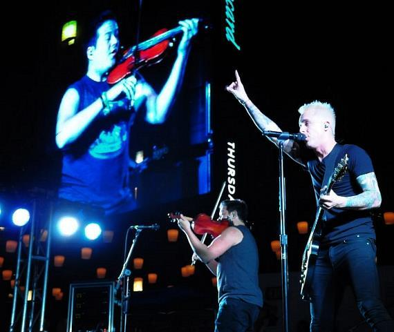 Yellowcard Plays The Boulevard Pool for The Cosmopolitan of Las Vegas' Set Your Life To Music Series