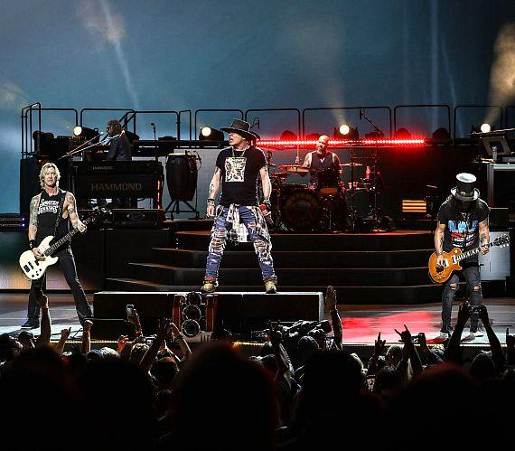 Guns N' Roses Perform at The Colosseum at Caesars Palace in Las Vegas